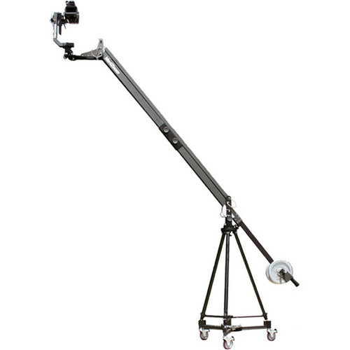 VariZoom QuickJib Extension Kit with TCR100 Tripod, DCR100 Dolly & MC100 Motorized Head