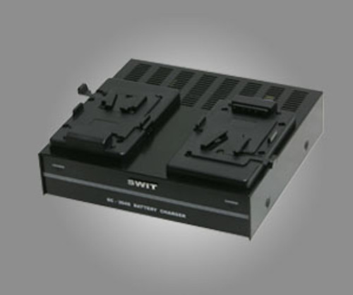 Swit SC-304S 2-Channel Simultaneous V-mount Charger by SWIT