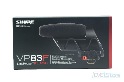 Shure VP83F Lenshopper Microphone with Flash Recording