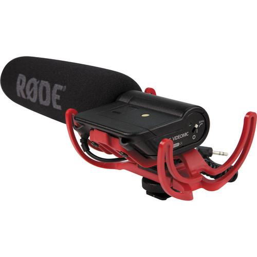 Rode VideoMic-R Directional super cardioid condenser microphone