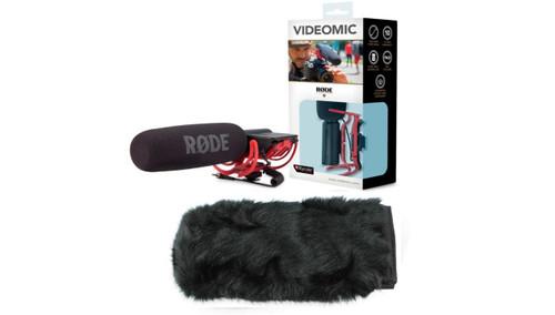 VideoMic Boom Kit 1: Rode Videomic, Microboompole, 10' VC1, and Fuzzy Dead Thing Wind Muff