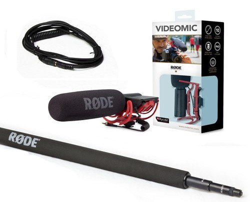 RODE VideoMic Boom Kit 3- 10' by RODE