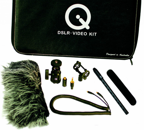 Que Audio DSLR-Video Kit Open Box