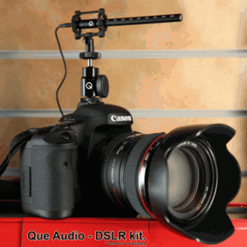 Que Audio DSLR-Video Kit Open Box by Que Audio