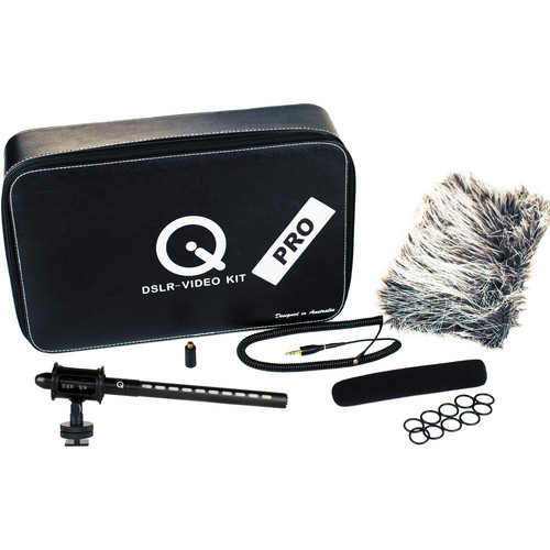 Que Audio DSLR-Video Pro MicrophoneKit Open Box