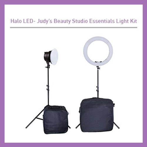Judy's Beauty Studio Essentials 2 Light Kit LED