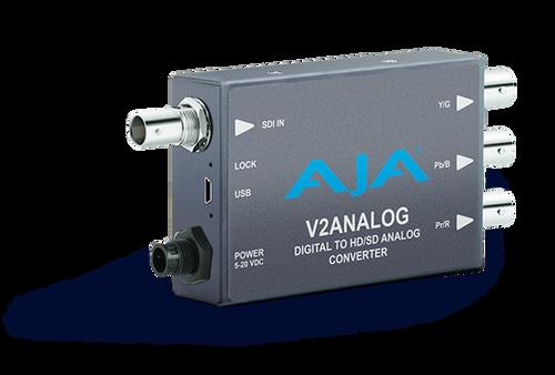 AJA V2Analog Digital to HD/SD Analog Converter