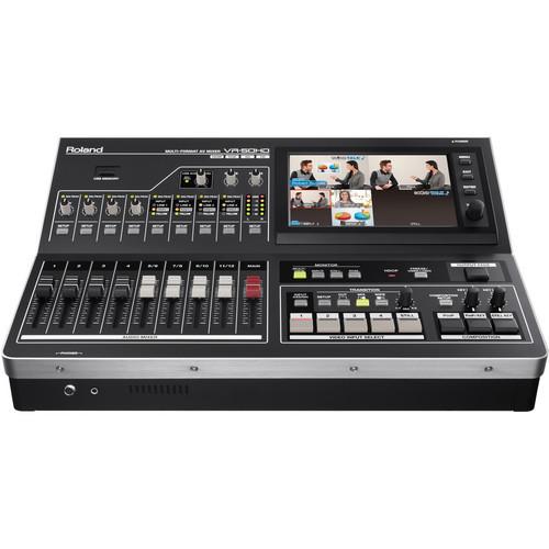 Roland VR-50HD Multi-Format AV Mixer Front