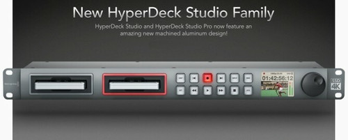 Blackmagic HyperDeck Studio Pro 2