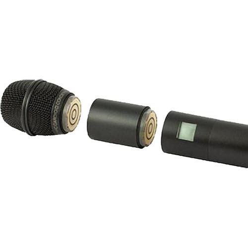Lectrosonics HHXTND Extender for Handheld Microphone Transmitter Flag In Use