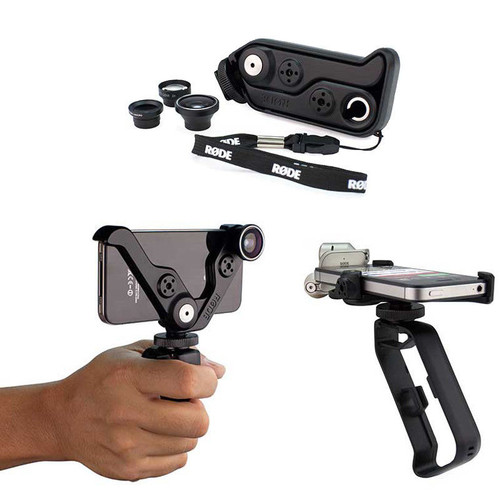 RODEGrip+ Multi-Purpose Mount & Lens Kit for iPhone 4 & 4S