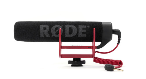 RODE VideoMic GO On-Camera Shotgun Microphone