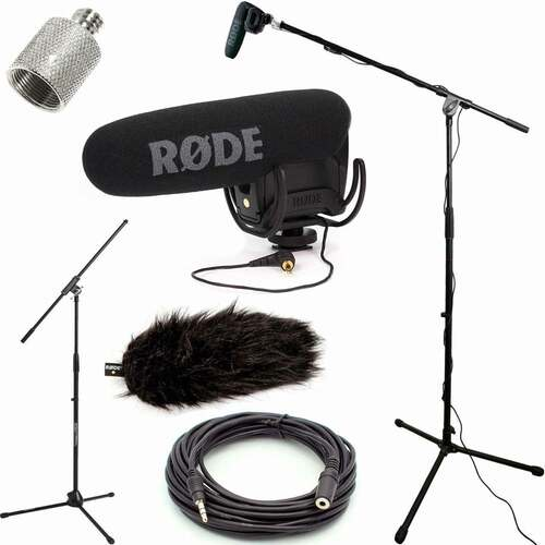 RODE VideoMic Pro Microphone Studio Boom Kit