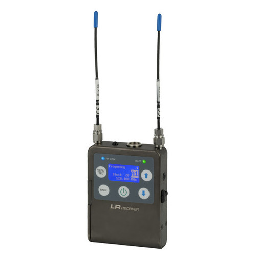Lectrosonics LR Ultra-Compact Digital Hybrid Wireless Receiver