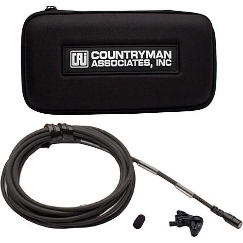 Countryman B2DW4FF05BSR B2D Directional Lavalier Microphone with Standard Gain Sensitivity for Sennheiser Transmitters (Black) Accessories