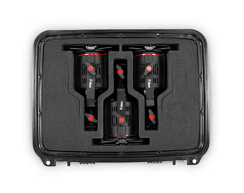 Fiilex M381 Lighting Kit (3x-P180E) In Case