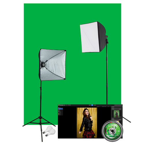 Westcott Illusions uLite Green Screen Photo Lighting Kit - Lite 401N