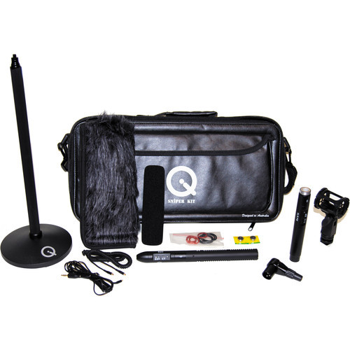 Que Audio Q 210 Hybrid Sniper Shotgun Microphone Kit