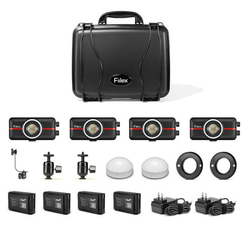 Fiilex M421 (Go4) Lighting Kit (4x-P100)