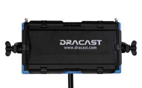 Dracast LED 500 Tungsten Gold Plate Mount Studio Lighting Barn Doors Closed