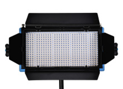 Dracast LED 500 Bi Color V Mount Studio Lighting Barn Doors Open