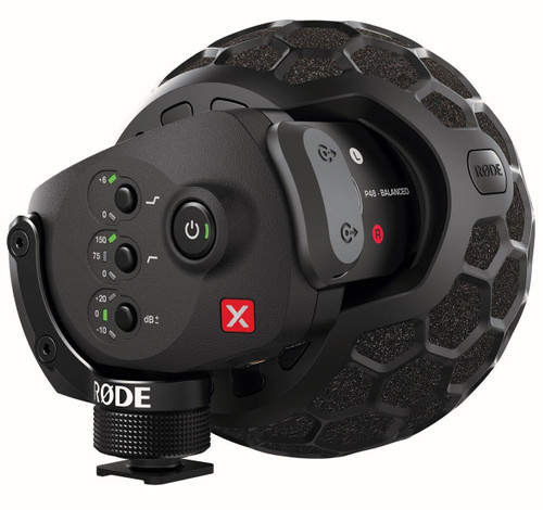 RODE Stereo VideoMic X On-camera Microphone
