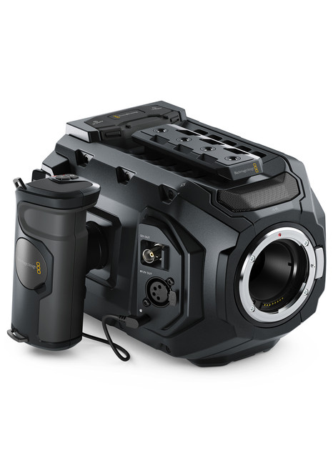 Blackmagic Design URSA Mini 4K EF (CINECAMURSAM40K/EF) Left Angle