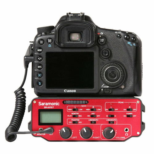 Saramonic SR-AX107 Two-Channel XLR Audio Adapter
