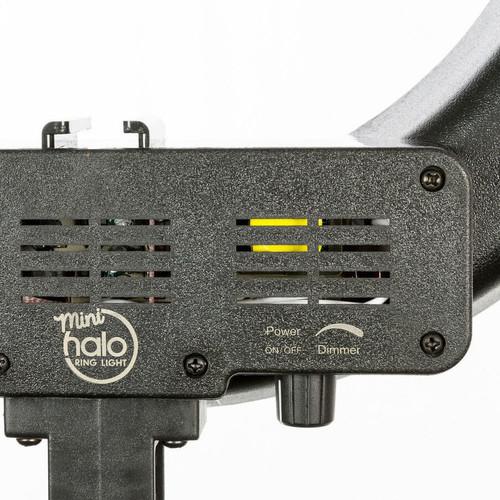 Mini Halo Ring Light Dimmer Dial Detail