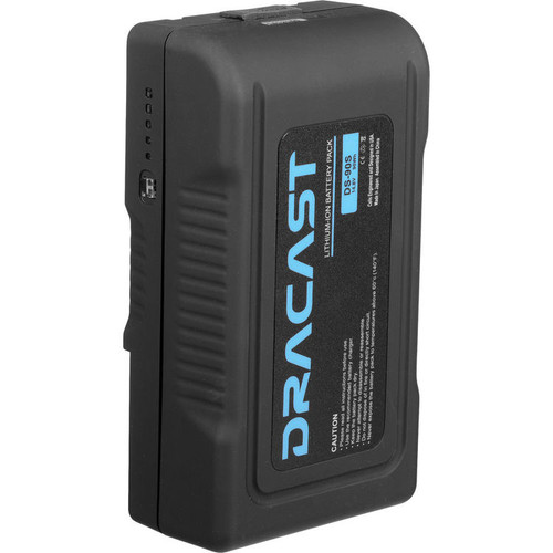 Dracast 90Wh 14.8V Li-Ion V-Mount Battery