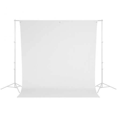 Westcott 134 9' x 10' White Backdrop (wrinkle resistant) (2.7 x 3 m)