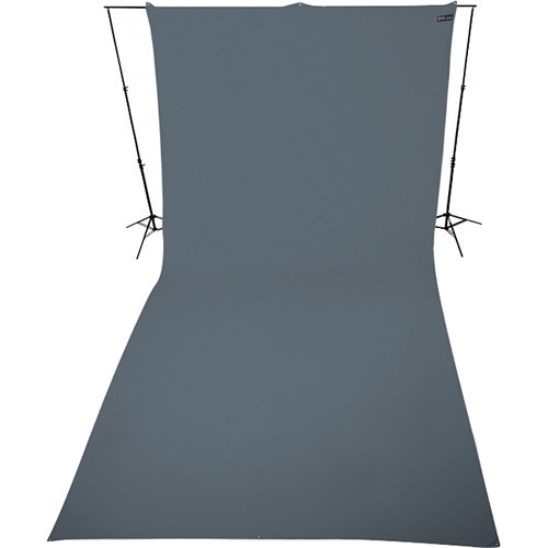 Westcott 141 9' x 20' Neutral Gray Wrinkle Resistant Backdrop (2.7 x 6 m)
