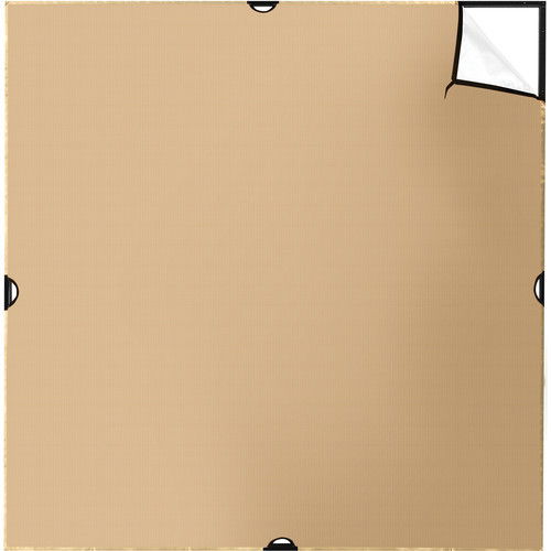 Westcott 1775 Scrim Jim Cine 6' x 6' Gold/White Bounce Fabric