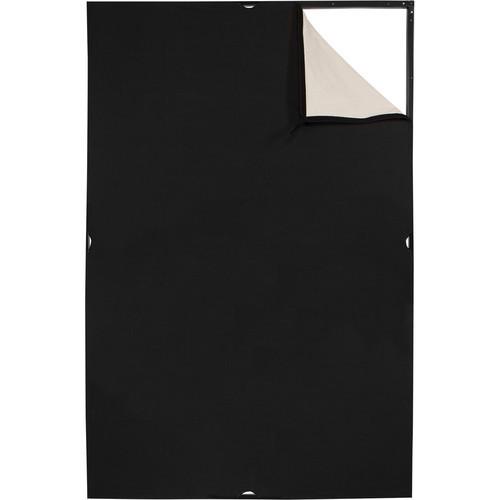 Westcott 1949 Scrim Jim Cine 4' x 6' Unbleached Muslin/Black Fabric