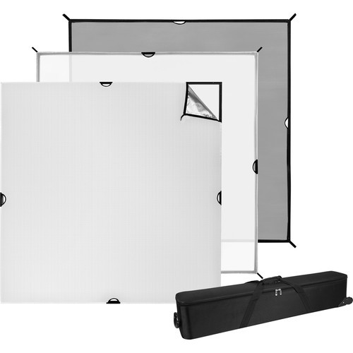 Westcott 1691 6' x 6' Scrim Jim Cine Video Kit