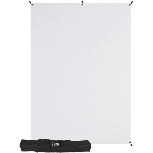 Westcott 577K X-Drop Kit with 5' x 7' White Backdrop (1.5 x 2.1 m) Includes: X-Drop Frame, Backdrop, Storage Case.