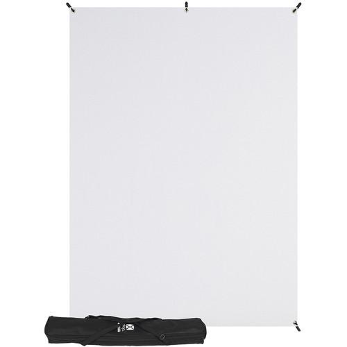 Westcott 577K X-Drop Kit with 5' x 7' White Backdrop (1.5 x 2.1 m) Includes: X-Drop Frame, Backdrop, Storage Case.