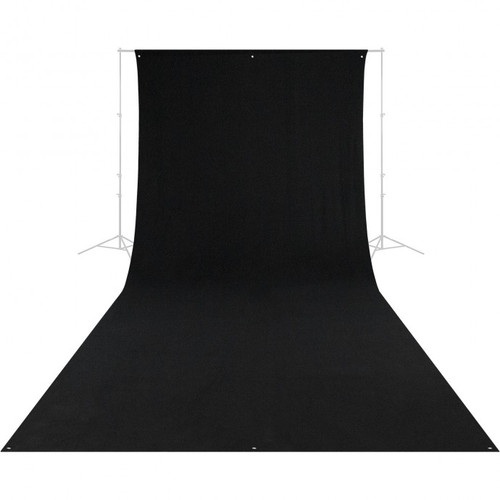 Westcott 138 9' x 20' Black Backdrop (wrinkle resistant) (2.7 x 6 m)