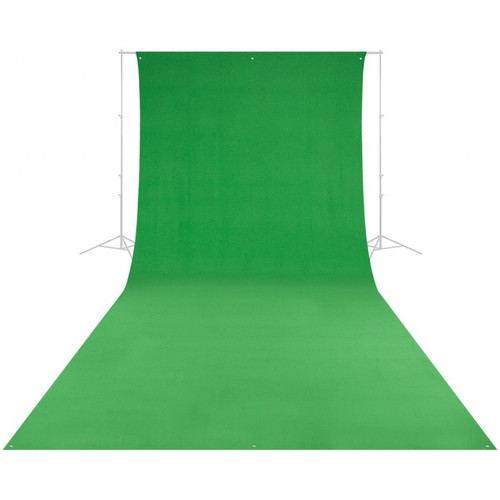 Westcott 132 9' x 20' Green Screen Backdrop (wrinkle resistant) (2.7 x 6 m)