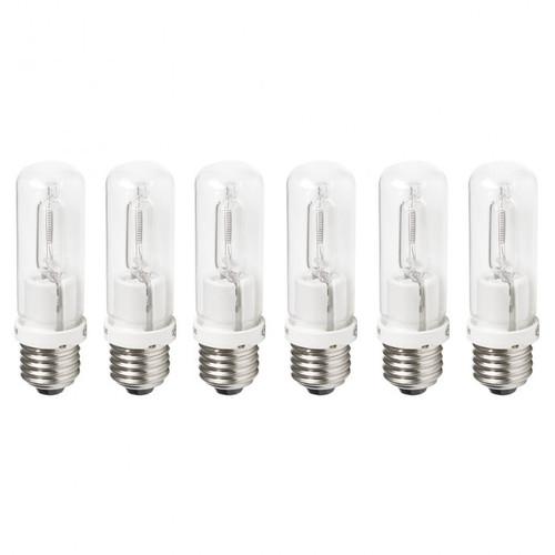 Westcott 6826 Tungsten Halogen Lamps (150-watt, 6-pack)