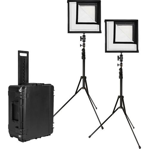 Westcott 7550 Flex 1' x 1' Daylight 2-Light Cine Studio Kit