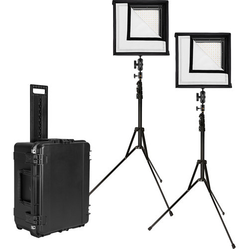 Westcott 7552 Flex 1' x 1' Bi-Color 2-Light Cine Studio Kit