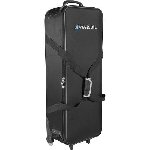 Westcott 7350 Flex Soft Wheeled Travel Case