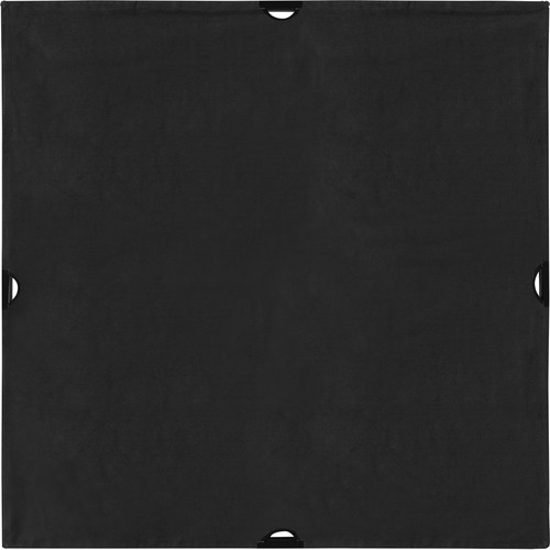 Westcott 1995 Scrim Jim Cine 4' x 4' Solid Black Block Fabric