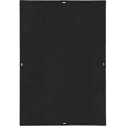 Westcott 1996 Scrim Jim Cine 4' x 6' Solid Black Block Fabric