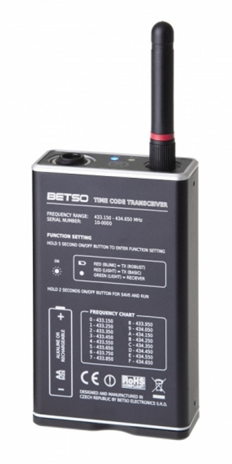 Betso TCX Multifunctional 16-channel Time Code transceiver