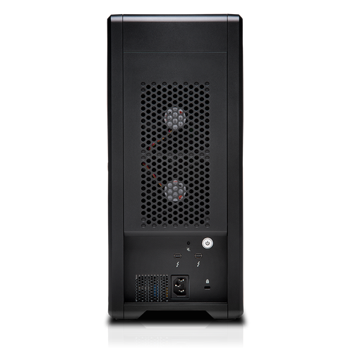 The G-SPEED Shuttle XL 24TB 8-Bay Thunderbolt 2 RAID Array from G-Technology has a transportable design that helps make it suitable for use in the field.