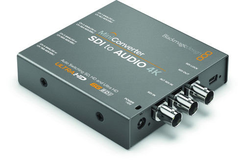 Blackmagic Design CONVMCSAUD4K Mini Converter - SDI to Audio 4K