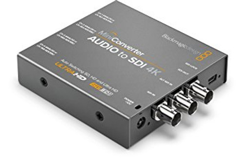Blackmagic Design CONVMCAUDS4K Mini Converter - Audio to SDI 4K