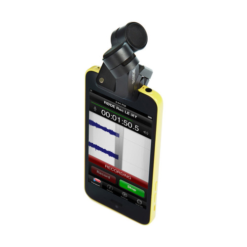 Rode iXY Stereo Recording Microphone for iPhoneiPad (Lightning Connector)